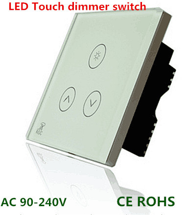 6pcs LED Touch dimmer switch 0