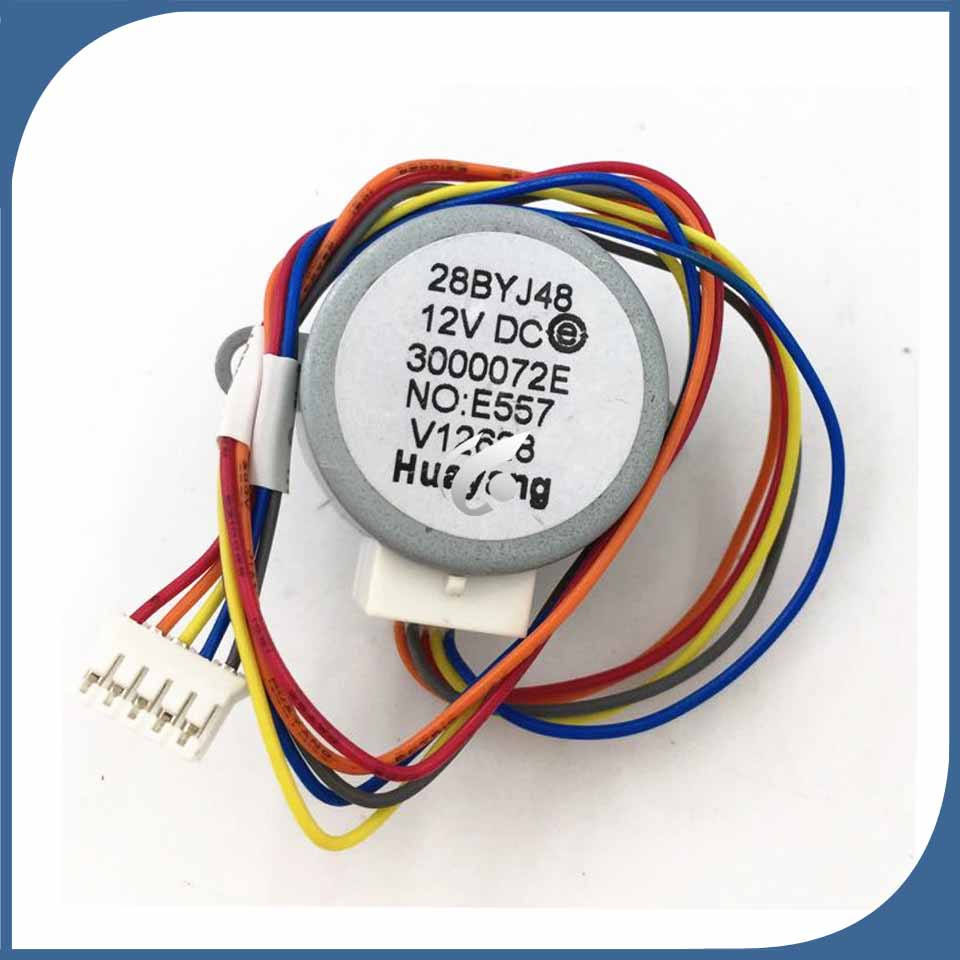 NEW original for Air conditioning Dual synchronous motor wind motor 28BYJ48 12V DCNEW original for Air conditioning Dual synchronous motor wind motor 28BYJ48 12V DC