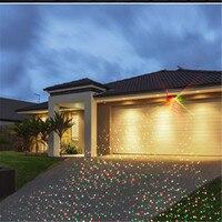 Super Bright LED Solar Panel Laser Spotlight Energy Saving Outdoor Indoor Garden Landscape Lamp Wedding Party Garland Decoration