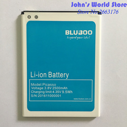 Bluboo Picasso Battery Replacement 100% Original 2500mAh Back up Battery For Bluboo Picasso Mobile Phone