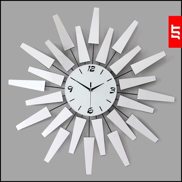 Große Kunst Uhr Kurze Mode Wohnzimmer Wanduhr Moderne Mode Dekoration  Schweigen Taschenuhr Uhr Quarzuhr