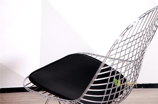 Eames Eiffel DKR Wire Chair Black-4