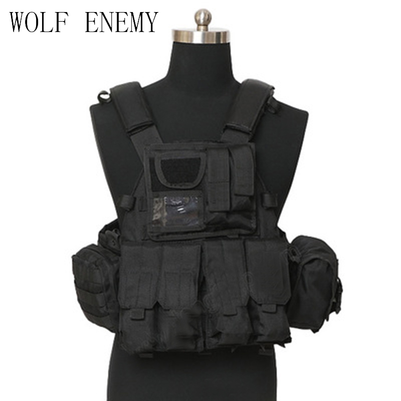 Professional Tactical Vest Army Military Molle Combat CS Typhon Highlander Vest Airsoft Paintball CS Waregame Combat Vest airsoft adults cs field game skeleton warrior skull paintball mask