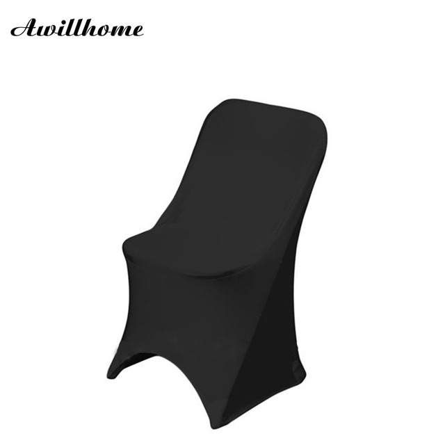 Super Us 300 0 Awillhome Shipping Free Stretch Black Spandex Folding Chair Covers For Wedding Decoration In Chair Cover From Home Garden On Camellatalisay Diy Chair Ideas Camellatalisaycom