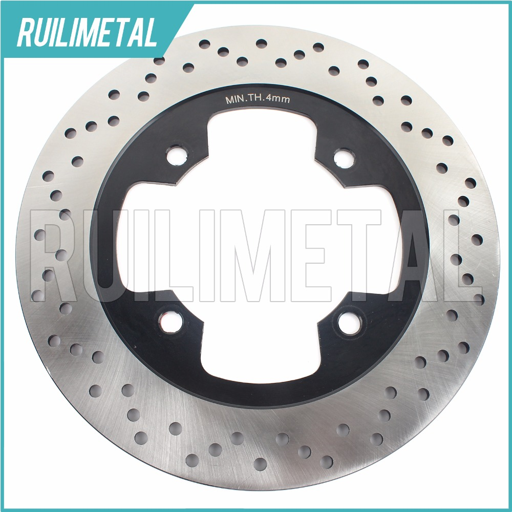 Rear Brake Disc Rotor for ZR 400 Zephyr X ZX-4 ZXR 400 R RR ZZ-R 400  ZR 550 Zephyr ZX-6 Ninja ZZ-R 600 E 1993-2007 motorcycle rear brake disc rotors for zr 550 zephyr 93 01 universel