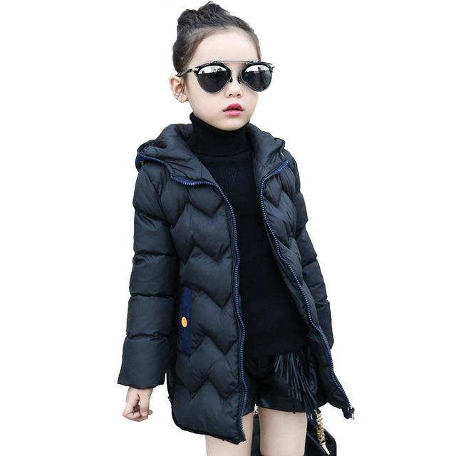 4-13Y Moda infantil jaquetas casacos de Algodão-acolchoado meninas Primavera/outono/inverno crianças jaqueta casaco outerwear crianças roupas