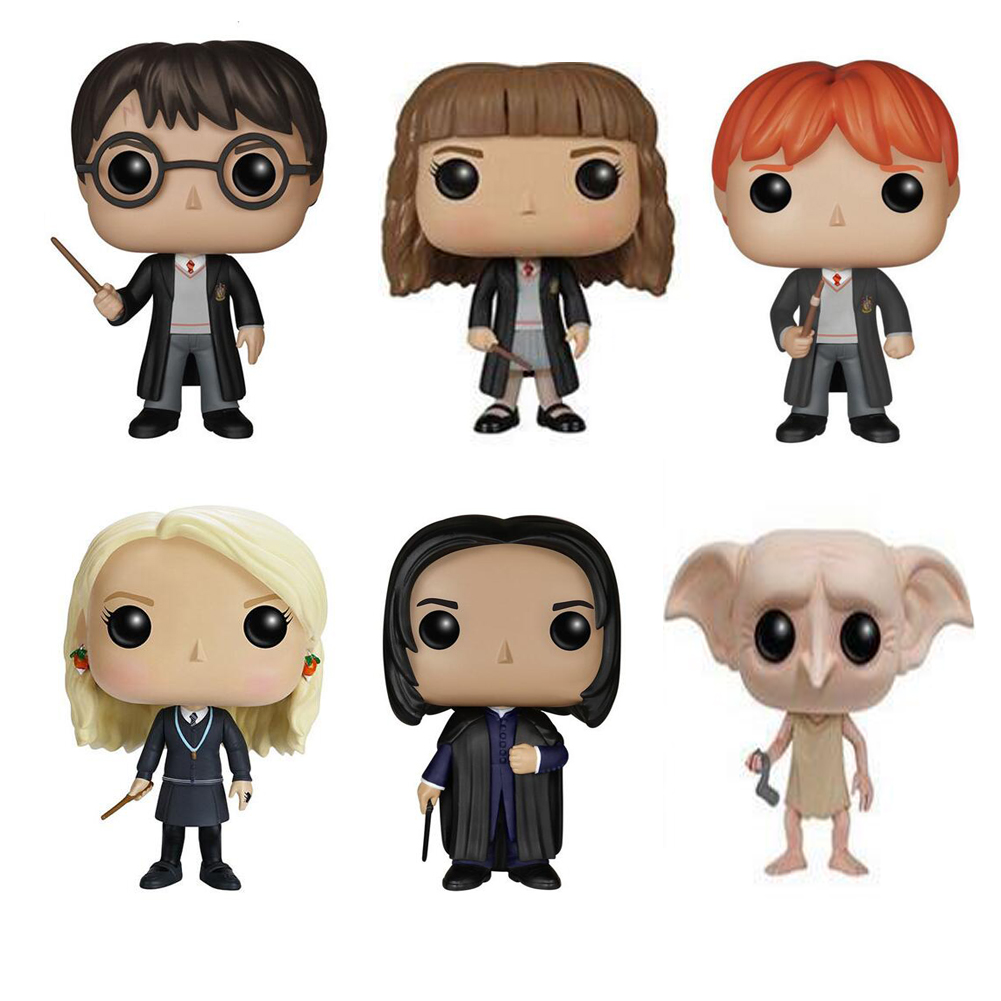 Movie Harry Potter Character 10cm Vinyl Doll Action Figure Collection Model Toys