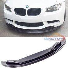 GTS Стиль Настоящее углеродное волокно передний спойлер для BMW E90 E92 E93 M3 седан купе трансформер 2008-2013 B313