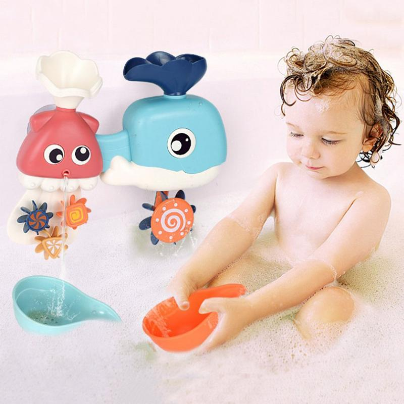 Baby Playing Cup Bath Toys For Children Classic Bathing Cup Waterwheel Wheel Type Bathroom Water Toys Orders Are Welcome. Bath Toy Toys & Hobbies