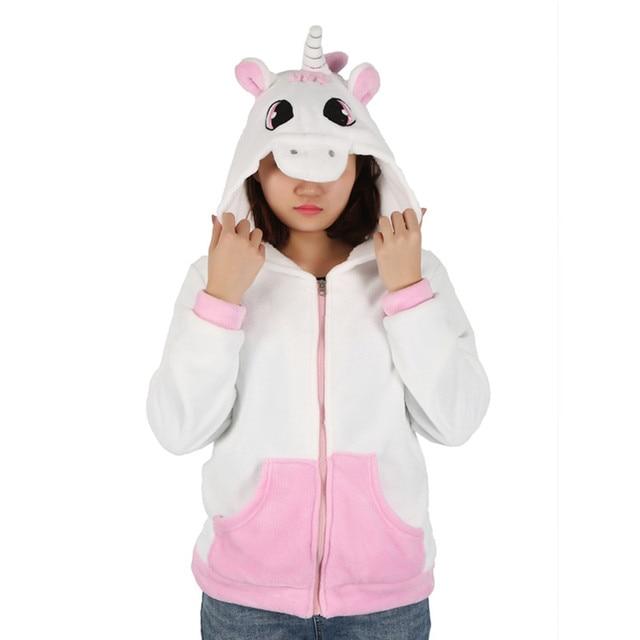 7b480e9ec04f0 BTS Novelty kawaii Sweatshirt Cartoon unicorn Sweatshirts Tracksuits Women  gardigan Hoodies Girl Winter Hooded Jacket