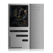 """Новый MP3 музыкальный плеер 1. 8 """"Экран 8 GB Встроенный динамик металлический корпус без потерь аудио ape flac плеер MP3 с fm-радио диктофон"""