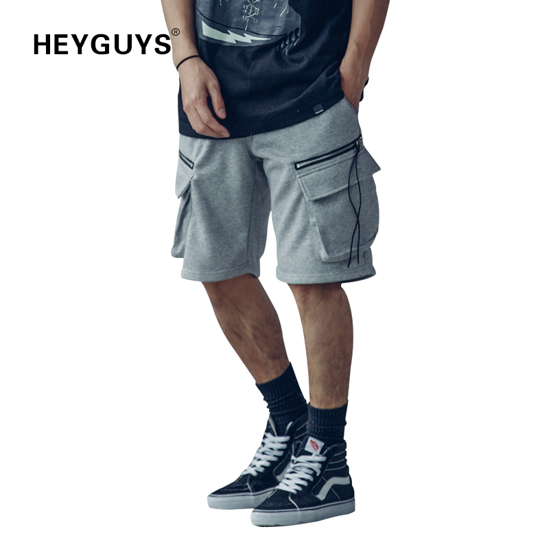 Heyguys Cotton Shorts Mens Jumpsuit Summer Camouflage Street Wear Hip Hop Shorts 2018 Shorts Men Trouser Brand Men's Clothing