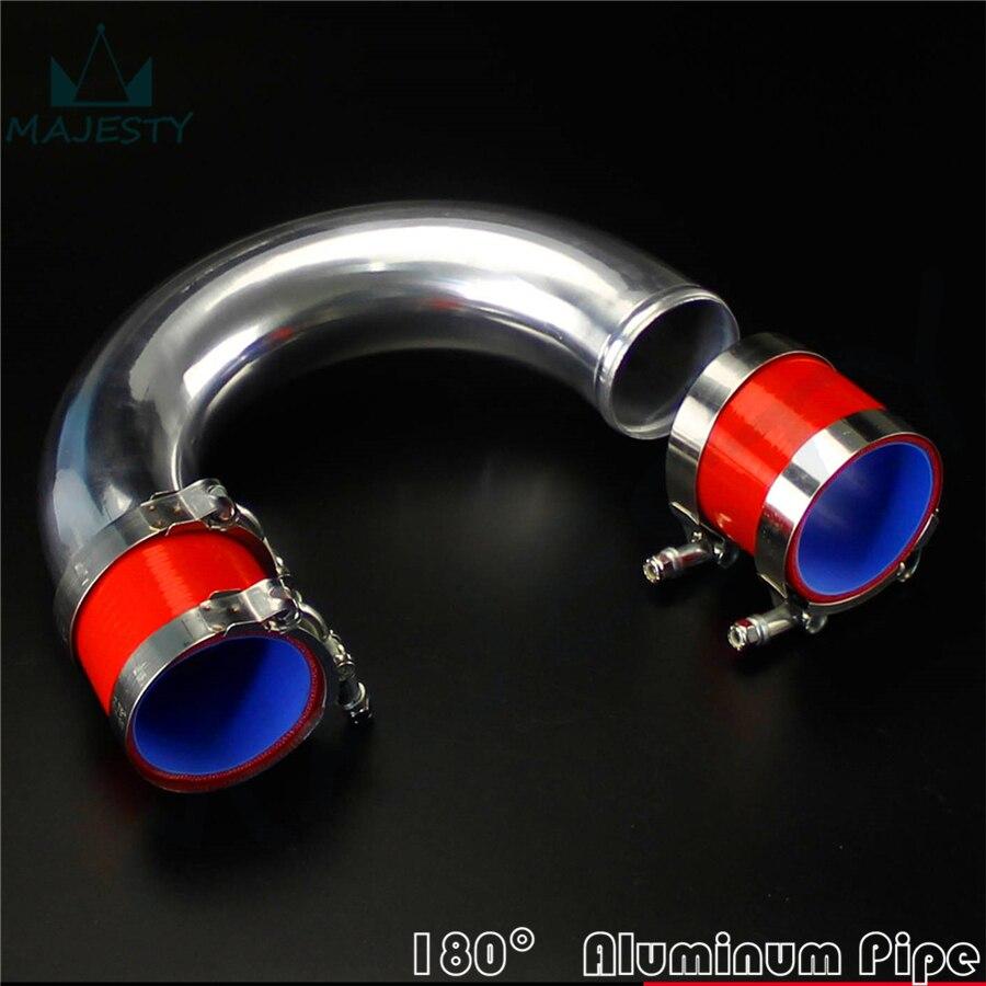 76 mm en Silicone Rouge T-pièce tuyau