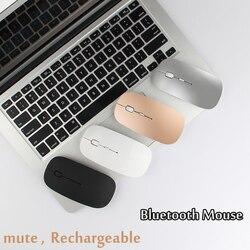 Cichy myszy akumulator mysz Bluetooth dla Huawei MediaPad M1 M2 M3 M5 Lite 8.0 10 10.1 M3 8.4 M5 8.4 10.8 Tablet Laptop