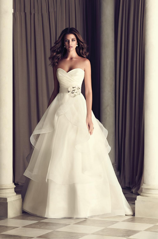Wunderbar Einfache Brautkleider Für Plus Size Bilder - Brautkleider ...