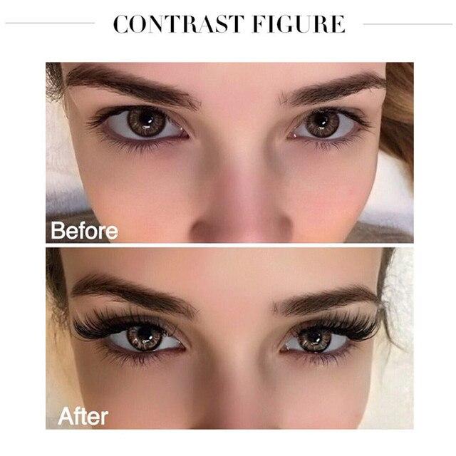 Pudaier Diamond Eye Lash Mascara 4d Fiber Waterproof Rimel Mascara Eyelash Makeup Cosmetic Curling Lengthening Lashes Black Ink 2