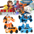 NEW 8 colors TOBOT Transformation Robot Car Korea Cartoon TOBOT Car Toys Children Vehicle Toys Xmas Gift