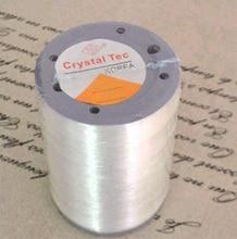 Wholesale elastic thread 1mm transparent rubber elastic thread spandex thread 1000 meters / roll free shipping