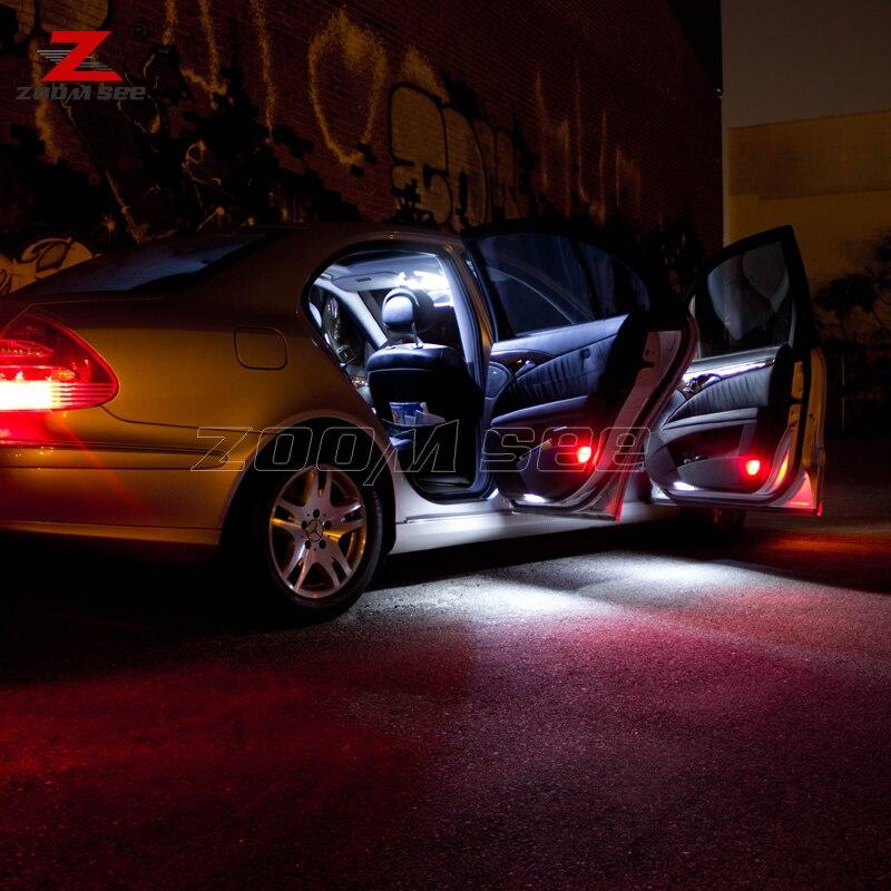 24x LED lampe auto innenhaube karte Licht Kit Für Mercedes Für ...