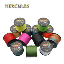 Hercules 8 Strands 1500M Braided Fishing Line Saltwater Peche Strong Carp Fishing Line Weave 100% PE Fishing Cord Accessories
