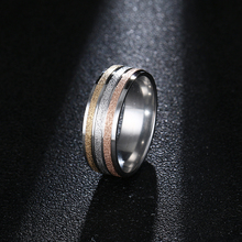 DOTIFI Titanium 316L Stainless Steel Rings For Women High Polished Signet Engagement Wedding Ring Jewelry