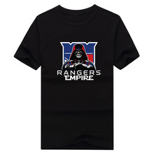 2017 New 100% Cotton Rangers Empire T-shirt Star Wars Darth Vader new york ny T Shirt 0105-15