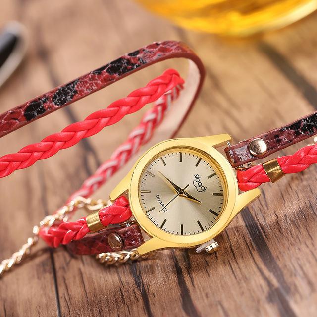 Reloj inglés de serpentina para mujer informal