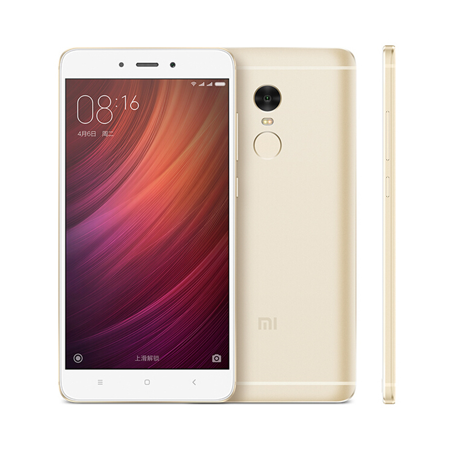Xiaomi Redmi Note 4 3GB 32GB Global ROM Smartphone 5.5 inch 1080P MTK Helio X20 Deca Core 13MP Metal Body Fingerprint ID