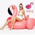 60 polegadas 1.5 m Gigante Inflável Flamingo Swan Passeio-on Carros Alegóricos Piscina de Natação de Verão Do Partido Adulto Criança a Ilha Flutuante divertido Brinquedo Da Água