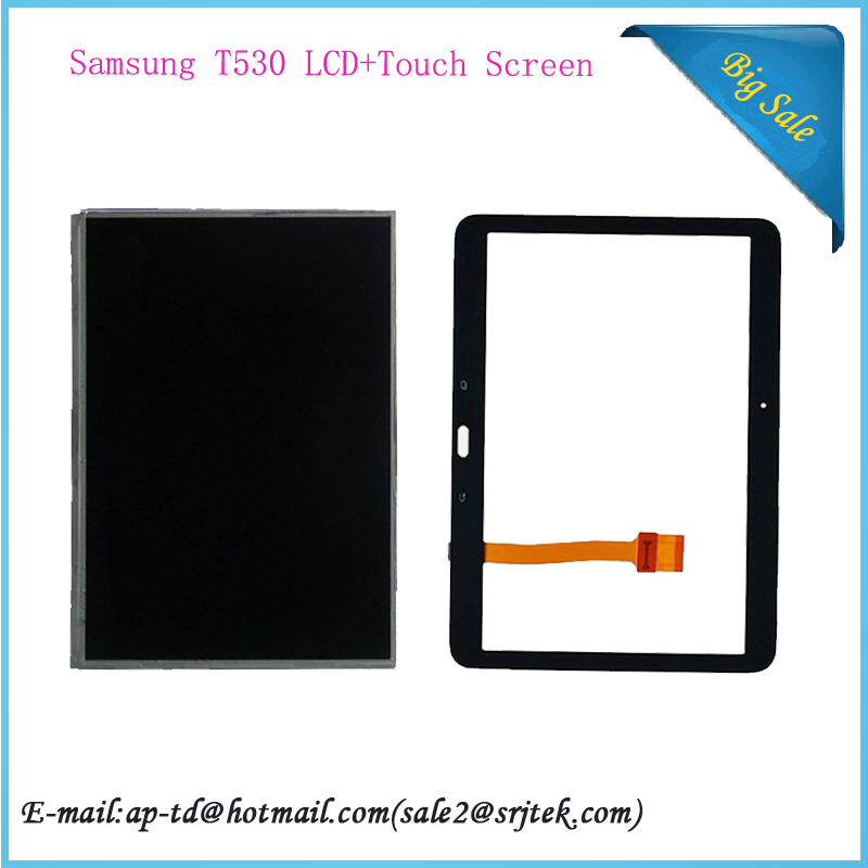 10.1 inch For Samsung Galaxy Tab 4 10.1 T530 T531 T535 10.1 Tablet LCD Display Screen +Touch Digitizer Replacement Parts
