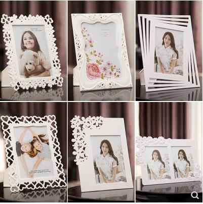 Photo frame set European creative 7 inch photo frame photo wedding children wall hanging photo frame picture frame relief-141