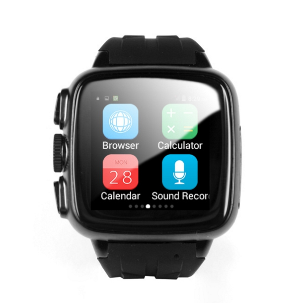 2017 Fashion SmartWatch Sapphire touch screen waterproof font b Smart b font Watch Support Micro SIM