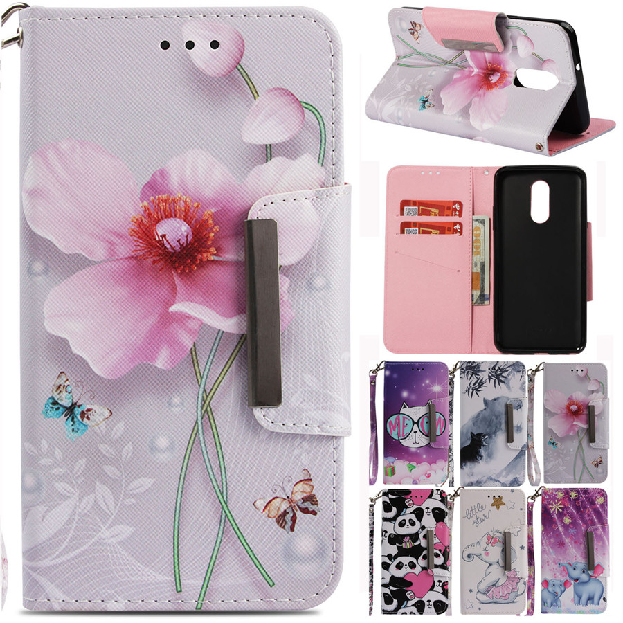 Case On Sfor Coque LG Stylo 4 Leather Cover For LG Q Stylus Alpha LG Q8 2018 Qstylus Plus Q710MS Cover Flip Wallet Phone Cases