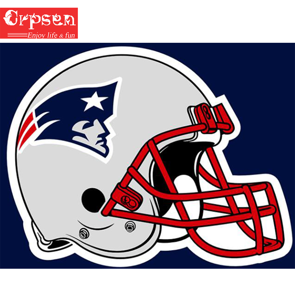 Full Diamond Painting 5D DIY Embroidery Square Drill NFL Team Helm Logo Sport Decor Crafts&Sewing Needlework Cross Stitch