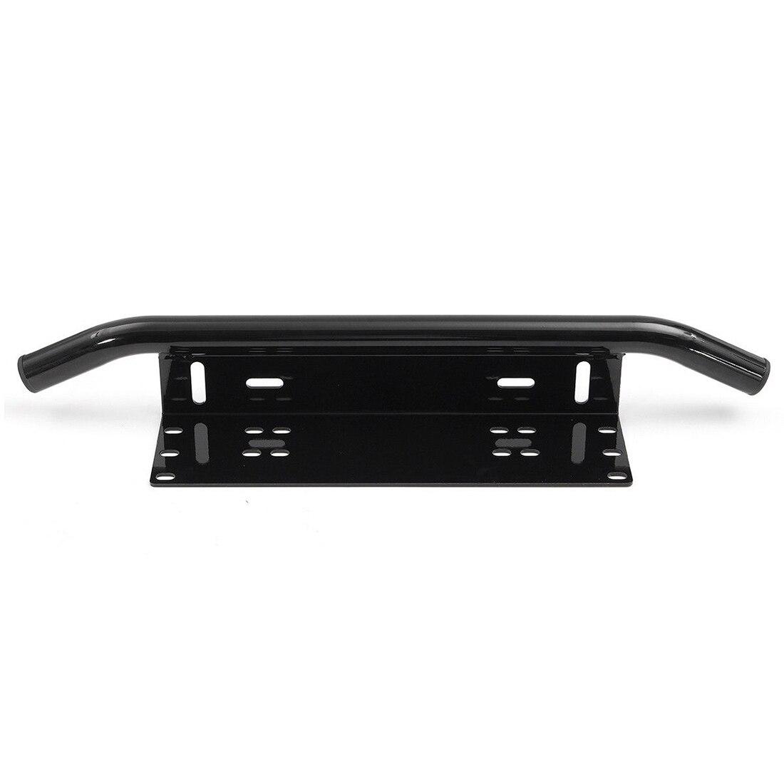 58.4cm Front Bumper License Plate Mount Bracket Holder Bar For Fog Working Lamp