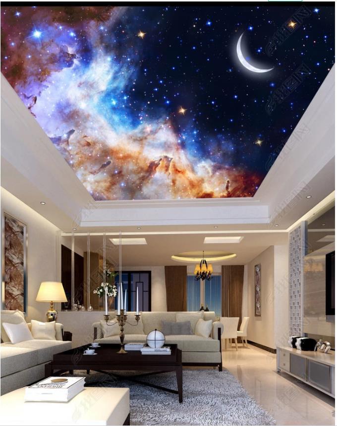 Ceiling Wallpaper Murals Night Sky