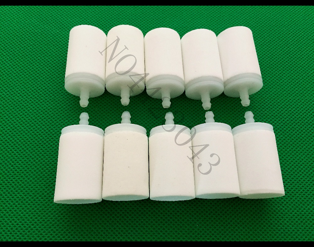 10PCS Chainsaw Fuel Filter For Husqvarna Chain Saw Parts