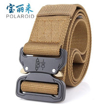 Tactical Belt Widen-4.5cm Nylon Outdoor Sports Military Adjustable with Metal Buckle Hunting Accessories