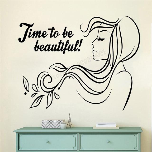 Art Wall Sticker Beauty Salon