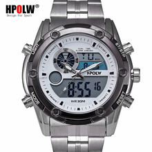 f581feb52c2 Novos Homens Relógio Do Esporte 2018 Relógio Masculino LEVOU Digital de  Pulso de Quartzo Relógios Top