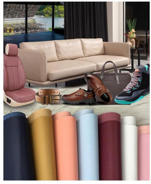 1 4mm Microfiber Leather Furniture Sofa Leatherette Fabric Soft Bag