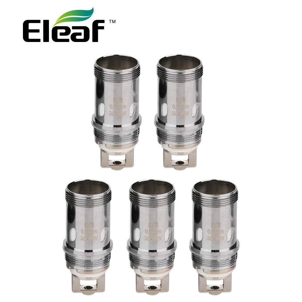 Originale 5 pz Originale Eleaf EC2 Coil Testa 0.3ohm/0.5ohm Testa Vape Bobina per Eleaf Melo 4 Atomizzatore/iKuun Kit E-Sigaretta Coil
