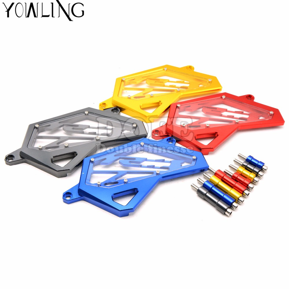 2016 Motorcycle Motorbike CNC Aluminum Front Sprocket Chain Guard Cover Engine Protector For Yamaha YZF R3 R25 2014 2015 2016 bjmoto cnc aluminum motorbike accessaries motorcycle engine guard cover pad for kawasaki z1000 r 2010 2011 2012