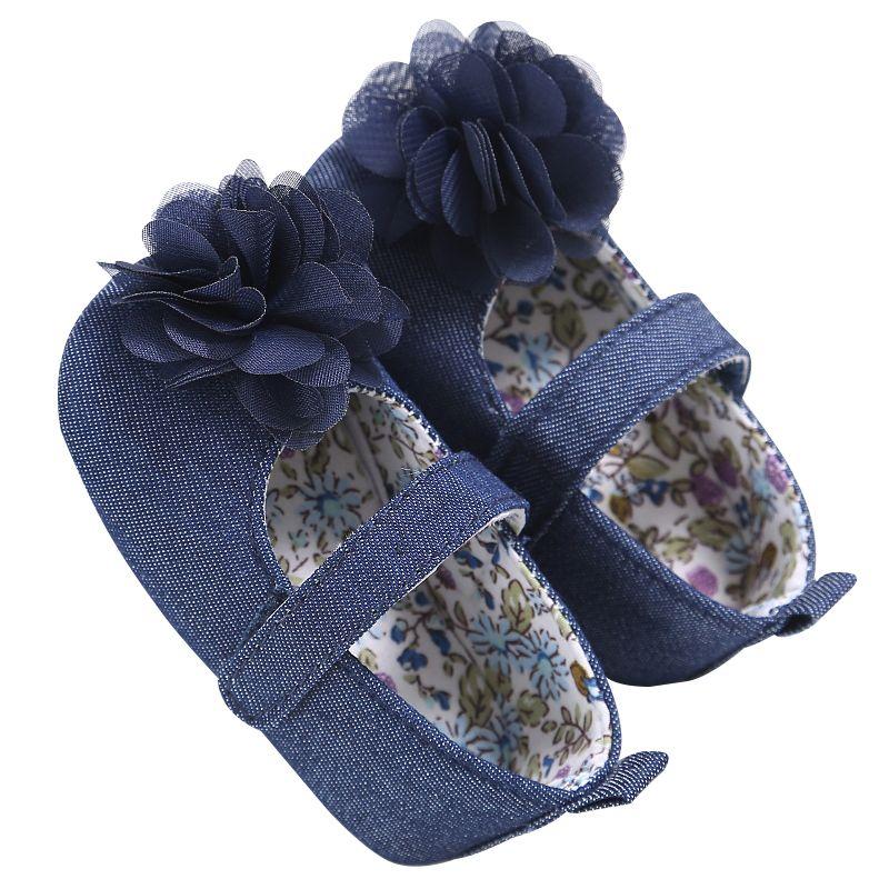 Baby Girls Cotton Princess Shoes Toddler Infant Sneaker Soft Prewalker 0-18 Month