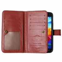 For Phone Case Samsung Galaxy S5 Cover Flip PU Leather TPU Case For Samsung Galaxy S5