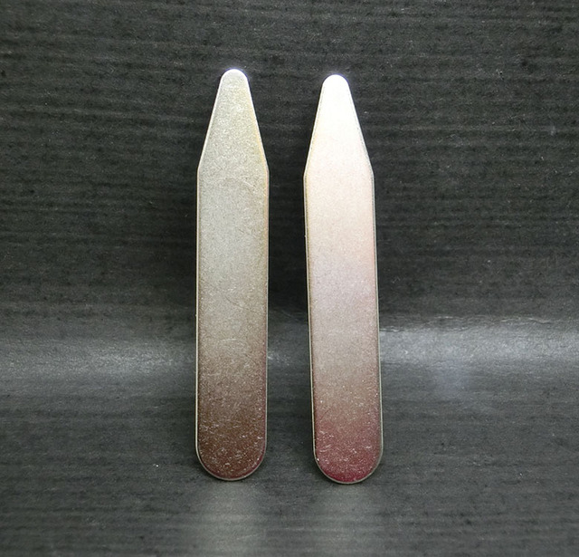 10 Pcs Stainless Steel Collar Stays