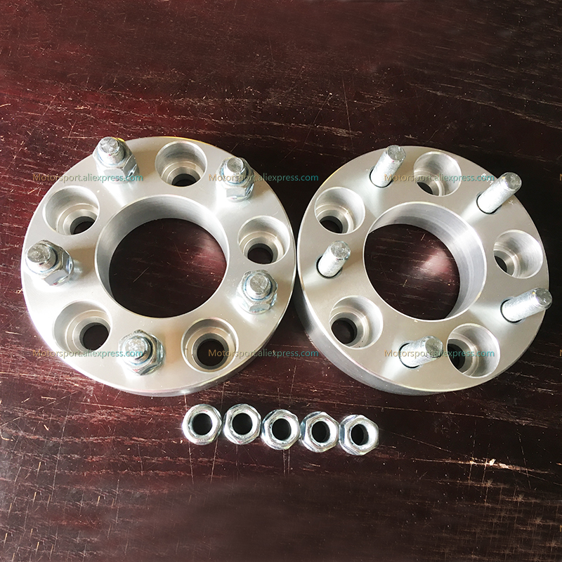 2Pcs PCD <font><b>5x139.7</b></font>/5x5.5 Center Bore 108mm Thick 30 MM Car Wheel Hub Spacer For Suzuki Jimny image