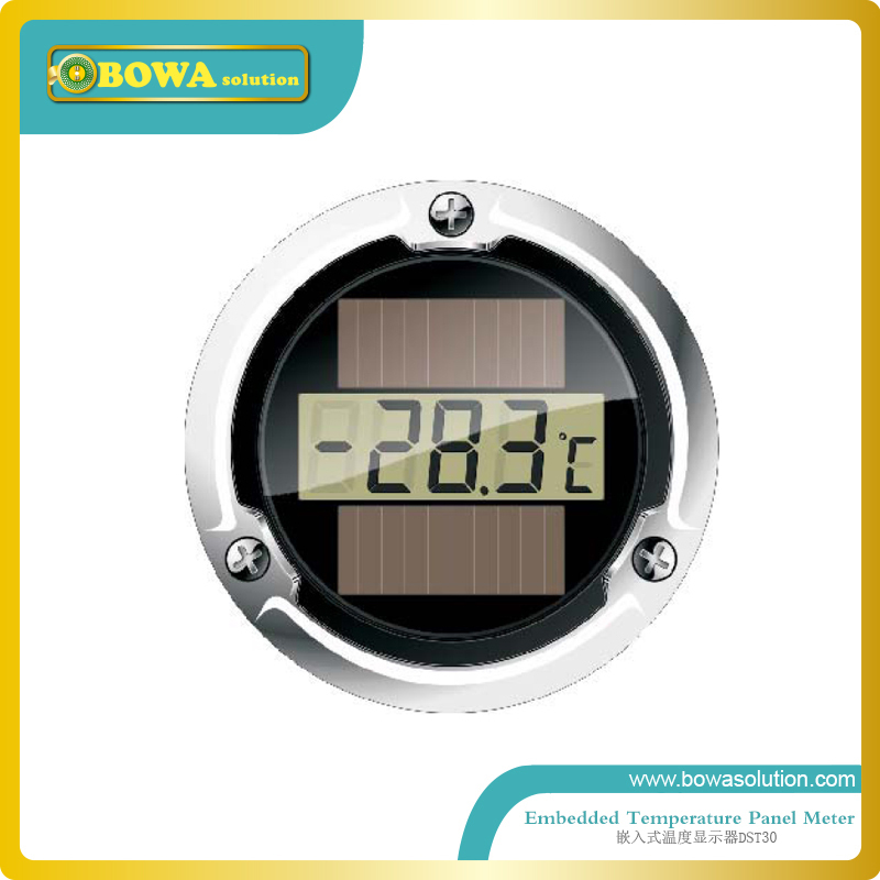 Embedded Temperature Panel Meter for home appliance, supermarket refrigeration equipments and kitchen equipments cascade and secondary coolant supermarket refrigeration systems