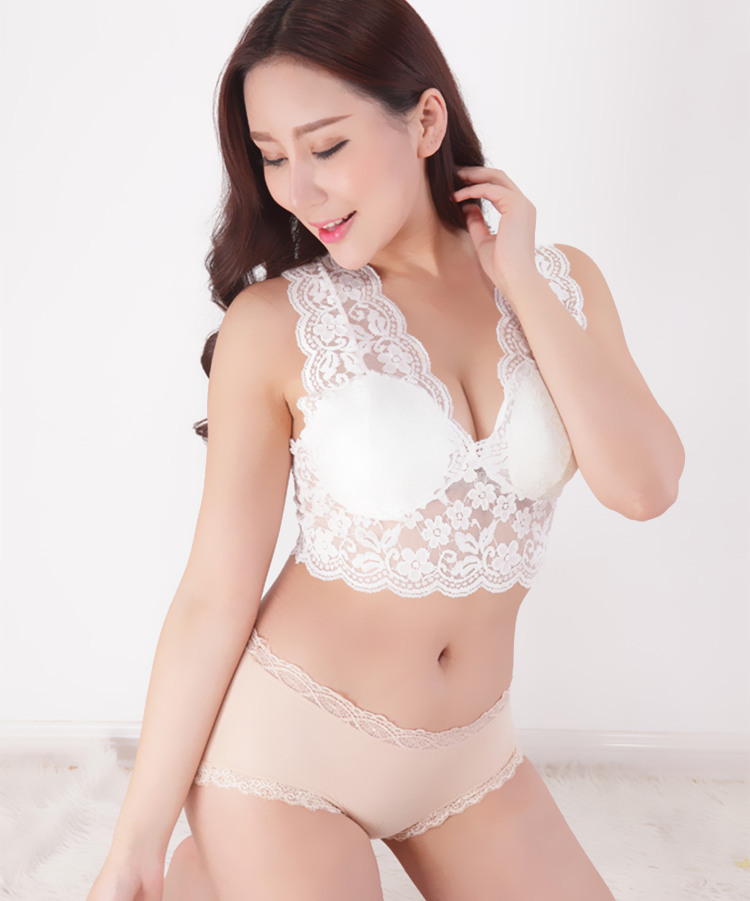 2019 Spring summer Women's Intimates tube Tops Lace Condoles belt breast wipe   2pcs/lot