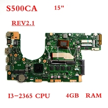S500CA motherboard I3-2365CPU 4GB RAM mainboard REV2.1 For ASUS S500CA